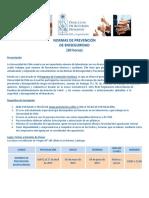 Programa Normas de Prevencion de Bioseguridad