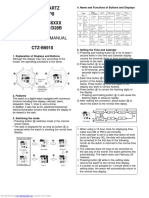 Manual Citizen d28b Mc6xxx