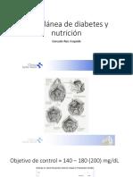 miscelánea de diabetes y nutrición