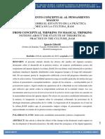 Ignacio Libretti - Del Pensamiento Conceptual Al Pensamiento Mágico (Versión Publicada en Eviterna-Had)