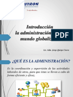 Clase 1 - Administracion