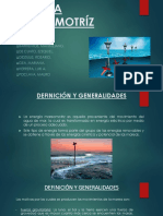 Monografia energia mareomotriz