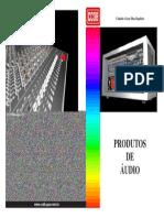 Capa Produtos de Audio