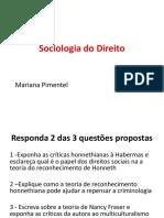 Sociologia Segunda Prova