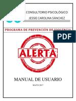 Programa Alerta Manual de Usuario