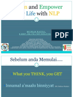 Design and Empower Your Life With NLP And