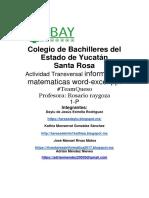 PROYECTO TRANSVERSAL - INFORMATICA Y MATEMATICAS