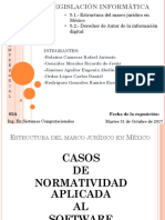 Legislación Informatica (ejemplo de expocisión)