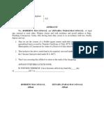 Affidavit 5 Hectare Limit