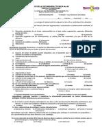 Examen Español III 2do Bimetre Yana