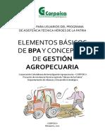 Elementos Básicos de BPA y Conceptos de Gestión Agropecuaria