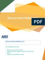 Sesión 38 Reglas Incoterms 2010 - EXW-FAS-FOB-FCA