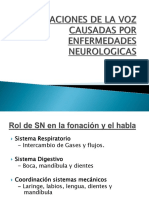 Alteraciones Voz Neurologicas