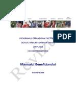 Manual Operational Beneficiari Revizuit 29 10 09