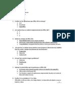 Cuestionario Office 365 1
