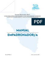 Manual Del Empadronador - 02 AGO