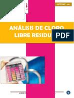 Informe de Cloro Residual
