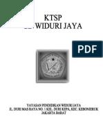 KTSP SD WIDURI JAYA TP. 2010/2011