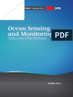 Ocean Sensing and Monitoring Optics and Other Methods