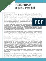 Forumului Social Mondial