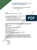 Examen Lengua Grado Superior Andalucia Septiembre 2013 Solucion