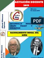 Pensam Moral Piaget Kolbergh miérc  18 febrero 2015