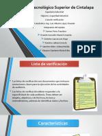 4.3 Lista de Verificacion.