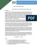 Guía de Práctica 9 - Isotermas de Adsorción