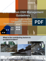 Construction OSH Mgmt Guidelines in Malaysia