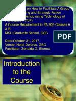 ToP Training Presentation July-Dec 2017 PA 203
