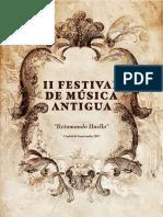 Festival de Musica Antigua