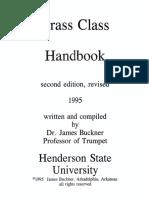 Brass Class Handbook - BC