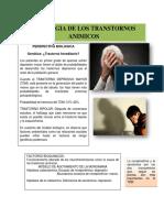 ETIOLOGIA DE LOS TRASTORNOS ANIMICOS