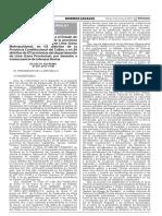 Decreto Supremo Que Declara El Estado de Emergencia en 15 Di Decreto Supremo n 027 2017 Pcm 1498859 1