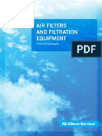 Air Filters and Filtration Equipment Web