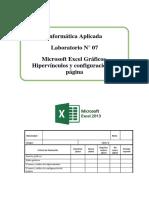 Lab 07 - Gráficos, Hipervínculos y Configuración de Página