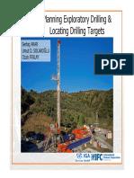 Planning Exploratory Drilling and Locating Drilling Targets S. Akar U. Solaroglu O. Atalay