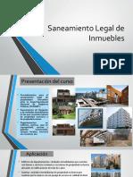 Exposicion de Saneamiento Fisico Legal