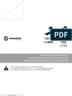 t103 Owners Manual