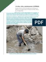 Delitos Contra El Niño