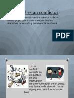 Conflictos en La Organizacion  , PSICOLOGIA ORGANIZACIONAL