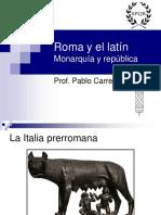 Historia de Roma y El Latín