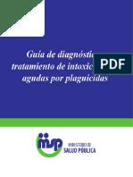 Guía Intoxicaciones Agudas Plaguicidas 2014