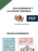 SEMANA 6° LOS HECHOS ECONÓMICOS Y LOS HECHOS CONTABLES (1)