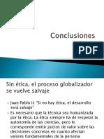Conclusiones globalizacion