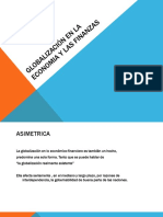 Globalizacion en La Economia y Las Finanzas