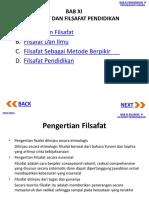 PIP Bab 11 Pengantar Ilmu Pendidikan