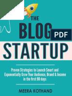 The Blog Startup Final