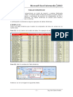 Sesión 10 Tablas Dinámicas - Excel