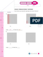 Comparar Décimos y Centésimos 4basico